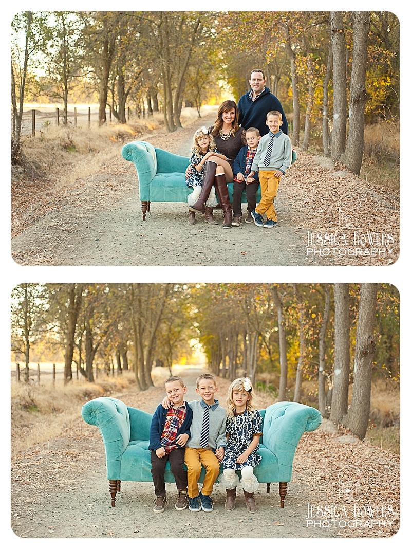 Fall Family Session. Sacramento Area. Jessica Bowers Photography