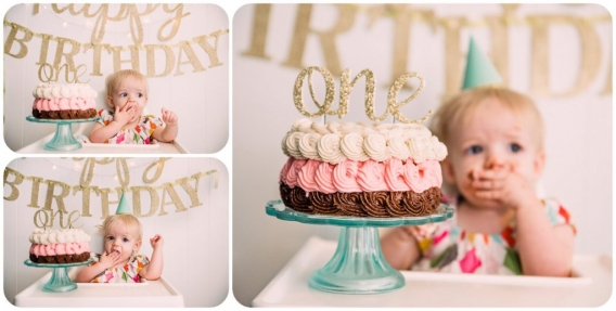 Swell Rethink The Cake Smash Sacramento Photographer Jessica Personalised Birthday Cards Cominlily Jamesorg